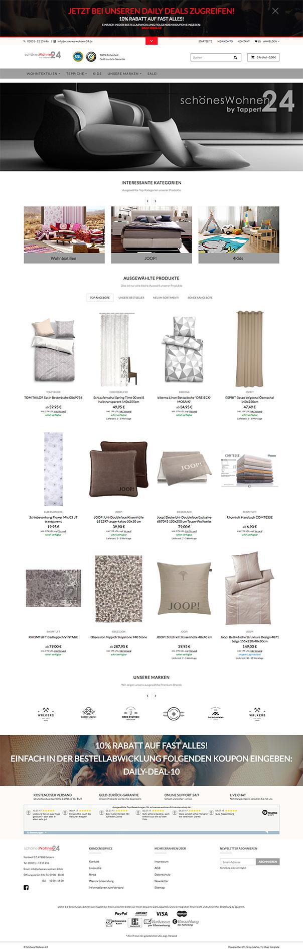 jtl shop template referenzen. Black Bedroom Furniture Sets. Home Design Ideas