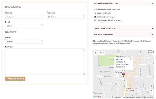 JTL Shop Template AVIA zertifiziert durch JTL, PREMIUM