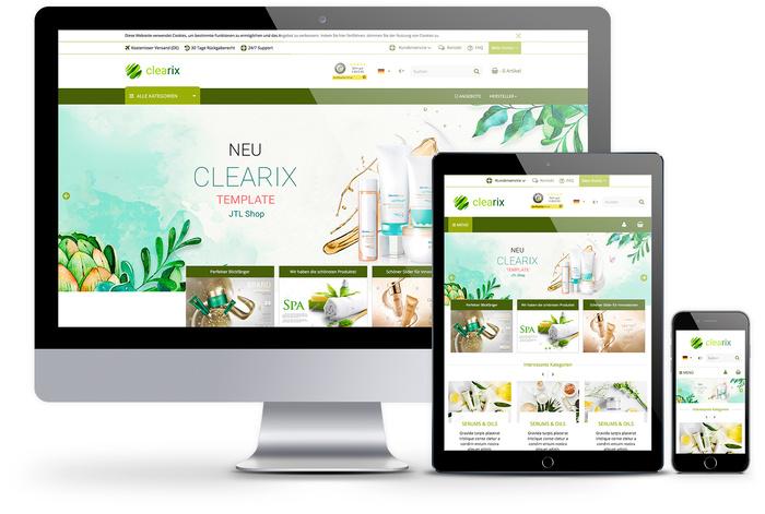 Fertige JTL Shop Templates mit Premium-Service und Support